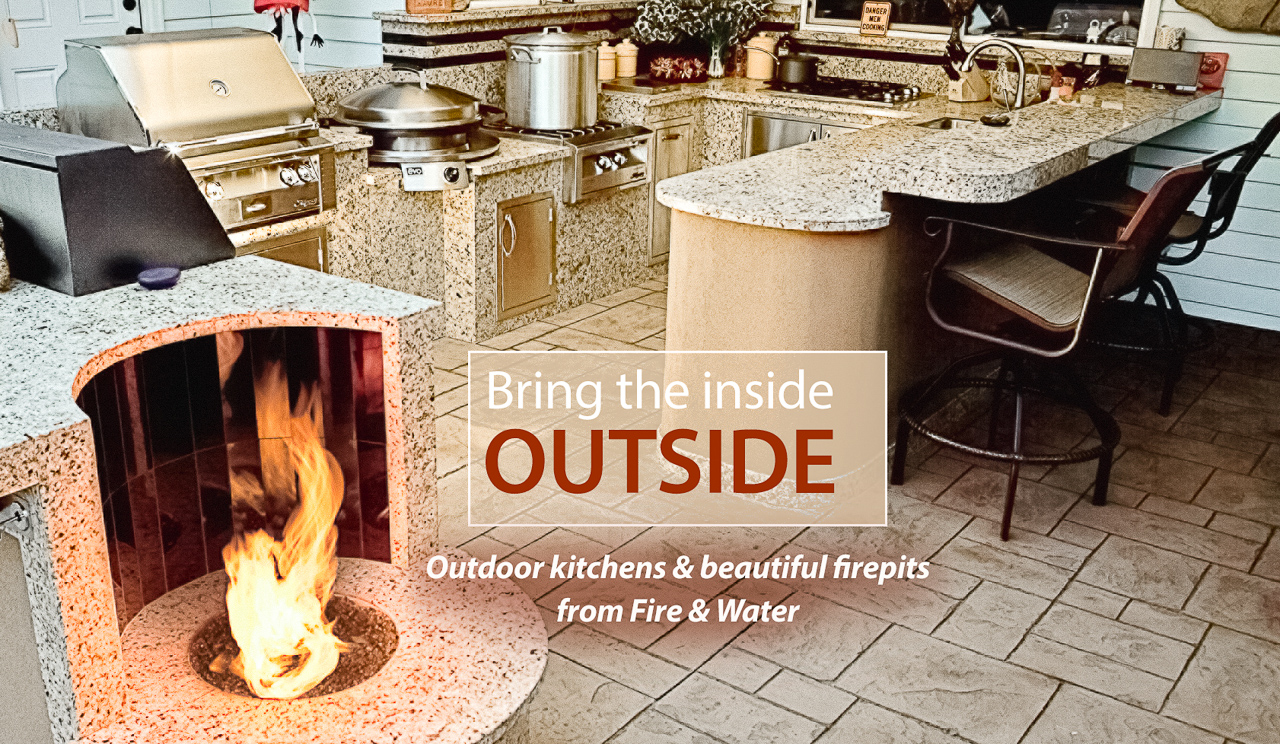 Outdoor Kitchens & Fire Pits from Fire & Water in Richland, WA